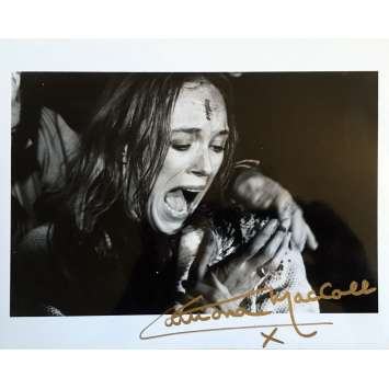 THE BEYOND Signed Photo - 8x10 in. - R1990 - Lucio Fulci, Catriona MacColl