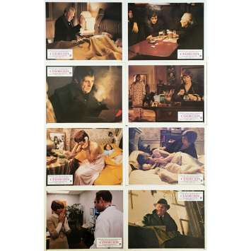 THE EXORCIST Lobby Cards x8 - 9x12 in. - 1974 - William Friedkin, Max Von Sidow