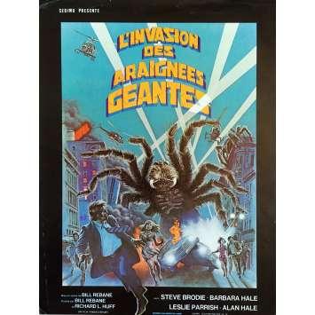 THE GIANT SPIDER INVASION Herald - 9x12 in. - 1975 - Bill Rebane, Steve Brodie