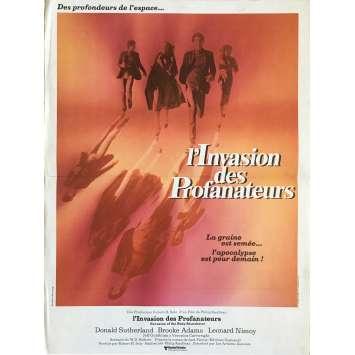 L'INVASION DES PROFANATEURS Affiche de film - 40x60 cm. - 1978 - Donald Sutherland, Philip Kaufman