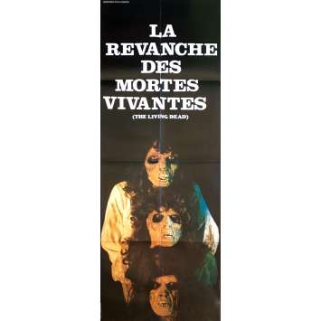 THE REVENGE OF THE LIVING DEAD GIRLS Movie Poster - 23x63 in. - 1987 - Pierre B. Reinhard, Cornélia Wilms