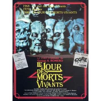 LE JOUR DES MORTS-VIVANTS Affiche de film - 40x60 cm. - 1985 - Lori Cardille, George A. Romero