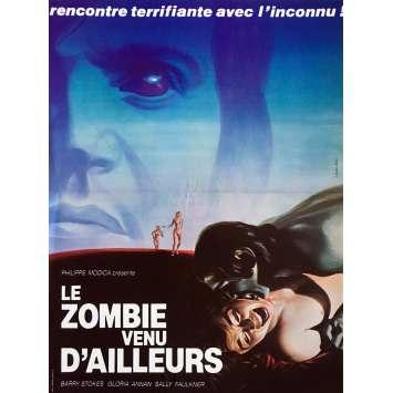 LE ZOMBIE VENU D'AILLEURS Affiche de film - 40x60 cm. - 1977 - Barry Stokes, Norman J. Warren