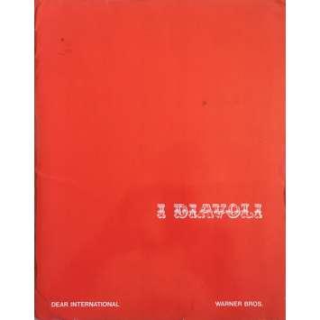 THE DEVILS Pressbook - 9x12 in. - 1971 - Ken Russel, Oliver Reed