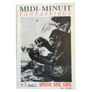 MIDI-MINUIT FANTASTIQUE Magazine N03 - 7x9 in. - 1960'S - ,