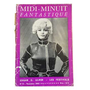 MIDI-MINUIT FANTASTIQUE Magazine N13 - 7x9 in. - 1960'S - ,