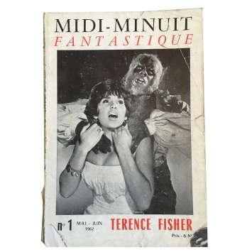 MIDI-MINUIT FANTASTIQUE Magazine N01 - 18x24 cm. - 1960'S - ,