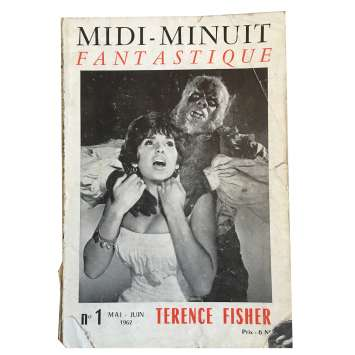 MIDI-MINUIT FANTASTIQUE Magazine N01 - 7x9 in. - 1960'S - ,