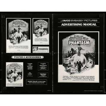 PHANTASM Dossier de presse - 28x43 cm. - 1979 - Angus Scrimm, Don Coscarelli