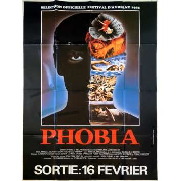 PHOBIA Affiche de film - 120x160 cm. - 1980 - Paul Michael Glaser, John Huston