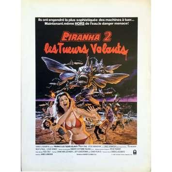 PIRANHA 2 Herald - 9x12 in. - 1981 - James Cameron, Lance Henriksen