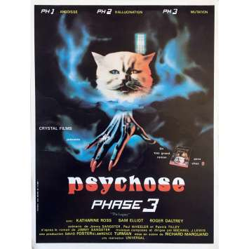 PSYCHOSE PHASE 3 Synopsis - 21x30 cm. - 1978 - Katharine Ross, Richard Marquand