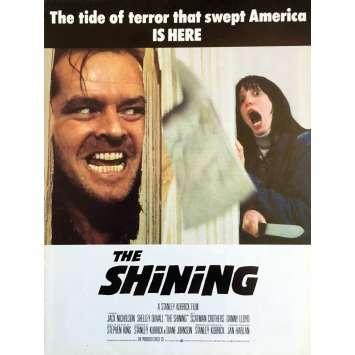 SHINING Synopsis - 21x30 cm. - 1980 - Jack Nicholson, Stanley Kubrick