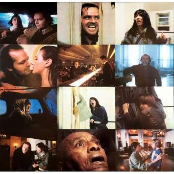 SHINING Photos de film x8 - 28x36 cm. - 1980 - Jack Nicholson, Stanley Kubrick