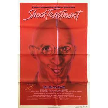 SHOCK TREATMENT Movie Poster - 29x41 in. - 1981 - Jim Sharman, Jessica Harper