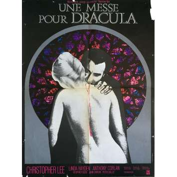 TASTE THE BLOOD OF DRACULA Movie Poster - 23x32 in. - 1970 - Peter Sasdy, Christopher Lee