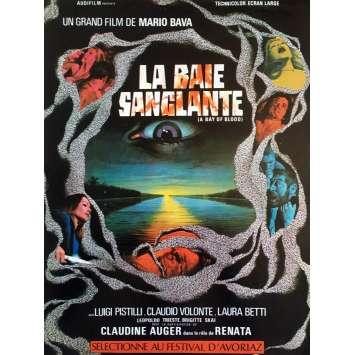 LA BAIE SANGLANTE Synopsis - 21x30 cm. - 1971 - Claudine Auger, Mario Bava