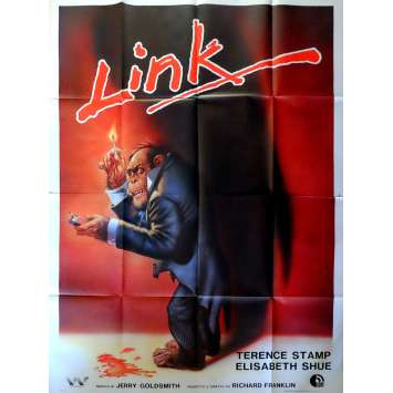LINK Affiche de film 140x200 - 1984 - Terence Stamp, Richard Franklin