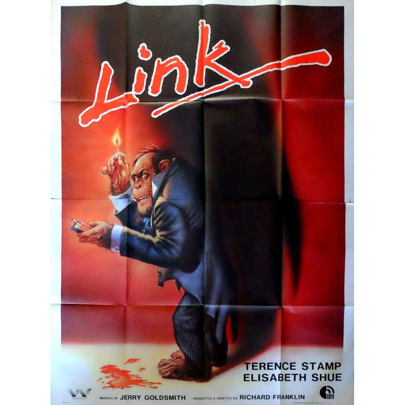 LINK Italian Movie Poster 55x70 - 1984 - Richard Franklin, Terence Stamp