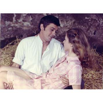 LA VEUVE COUDERC Photo de presse - 18x24 cm. - 1971 - Alain Delon, Pierre Granier-Deferre