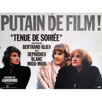 MENAGE Movie Poster - 23x32 in. - 1986 - Bertrand Tavernier, Gérard Depardieu