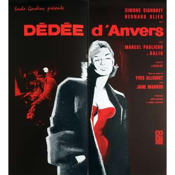 DEDEE D'ANVERS Herald - 9x12 in. - 1948 - Yves Allégret, Simone Signoret