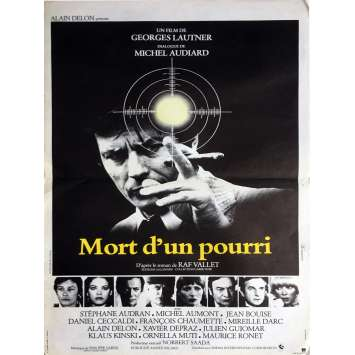 DEATH OF A CORRUPT MAN Movie Poster - 15x21 in. - 1977 - Georges Lautner, Alain Delon