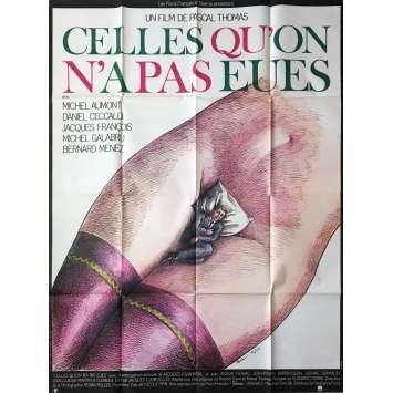 CELLES QU'ON A PAS EU Affiche de film - 120x160 cm. - 1981 - Topor