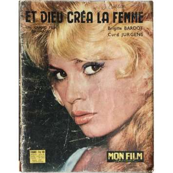 AND GOD CREATED WOMAN Magazine - 9x12 in. - 1956 - Roger Vadim, Brigitte Bardot