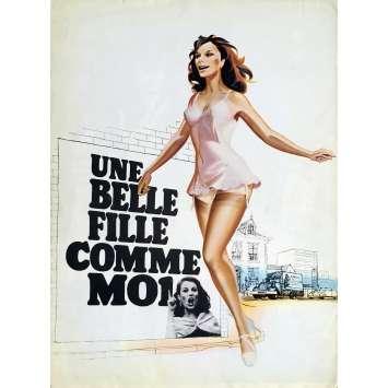 UNE BELLE FILLE COMME MOI Synopsis - 21x30 cm. - 1972 - Bernadette Lafont, François Truffaut