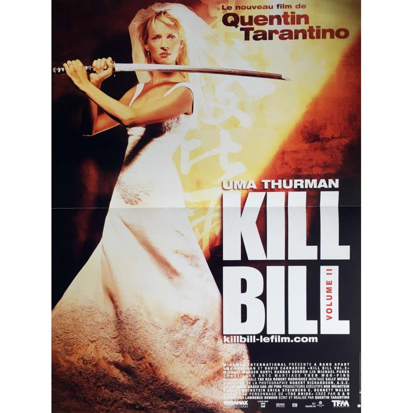 KILL BILL 2 Affiche FR 40x60 Quentin Tarantino Movie Poster