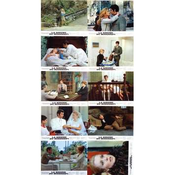 MISSISSIPI MERMAID Lobby Cards - 9x12 in. - 1969 - Truffaut, Belmondo, Deneuve