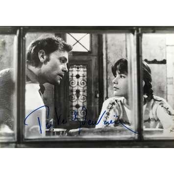 PATRICK DEWAERE Signed press still - 1981 - Original very rare Autograph
