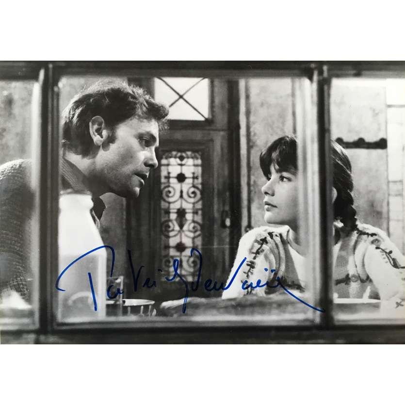 PATRICK DEWAERE Photo signée de Beau-père - 9x13 cm - 1981 - autographe