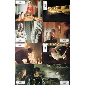 THE TOWERING INFERNO Lobby Cards x8 - 9x12 in. - 1974 - John Guillermin, Steve McQueen