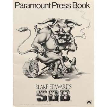 S.O.B Dossier de presse - 21x30 cm. - 1981 - Julie Andrews, Blake Edwards