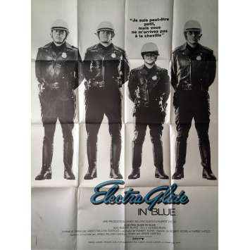 ELECTRA GLIDE IN BLUE Movie Poster - 47x63 in. - 1973 - James William Guercio, Robert Blake