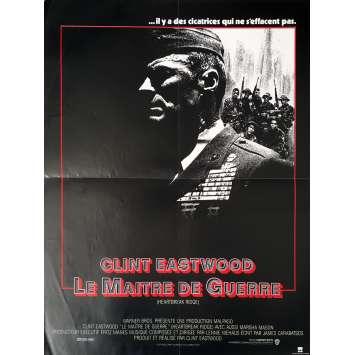 LE MAITRE DE GUERRE Affiche de film - 40x60 cm. - 1986 - Mario Van Peebles, Clint Eastwood