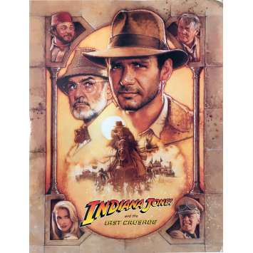 INDIANA JONES AND THE LAST CRUSADE Pressbook - 8x10 in. - 1989 - Steven Spielberg, Harrison Ford