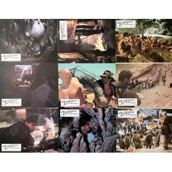 LES AVENTURIERS DE L'ARCHE PERDUE Photos de film x8 - 21x30 cm. - 1981 - Harrison Ford, Steven Spielberg