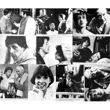 ROCKY Movie Stills x10 - 7x9 in. - 1976 - John G. Avildsen, Sylvester Stallone