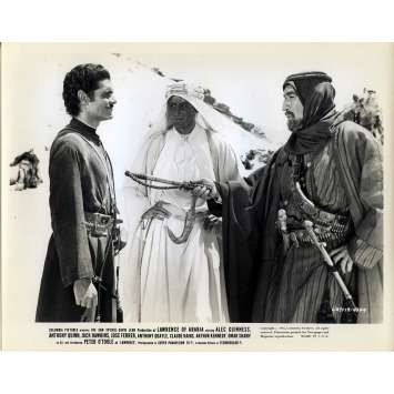 LAWRENCE D'ARABIE Photo de presse N08 - 20x25 cm. - 1962 - Peter O'Toole, David Lean
