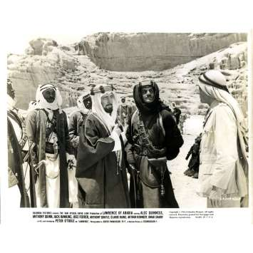 LAWRENCE D'ARABIE Photo de presse N05 - 20x25 cm. - 1962 - Peter O'Toole, David Lean