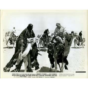 LAWRENCE D'ARABIE Photo de presse N04 - 20x25 cm. - 1962 - Peter O'Toole, David Lean