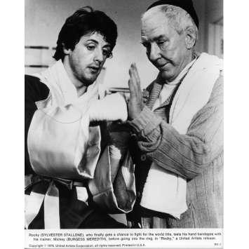 ROCKY Photo de presse N07 - 20x25 cm. - 1976 - Sylvester Stallone, John G. Avildsen