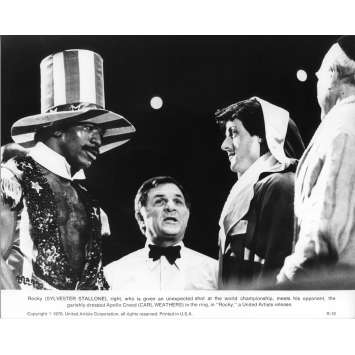 ROCKY Movie Still N04 - 8x10 in. - 1976 - John G. Avildsen, Sylvester Stallone