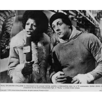 ROCKY Photo de presse N03 - 20x25 cm. - 1976 - Sylvester Stallone, John G. Avildsen