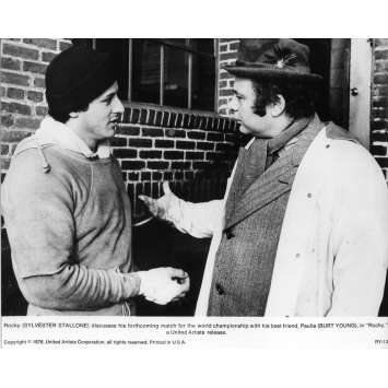 ROCKY Movie Still N02 - 8x10 in. - 1976 - John G. Avildsen, Sylvester Stallone
