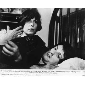 ROCKY Photo de presse N01 - 20x25 cm. - 1976 - Sylvester Stallone, John G. Avildsen