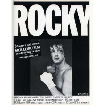 ROCKY Synopsis - 21x30 cm. - 1976 - Sylvester Stallone, John G. Avildsen